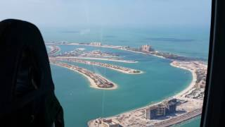 My Helicopter flight over Dubai 12.12.2016