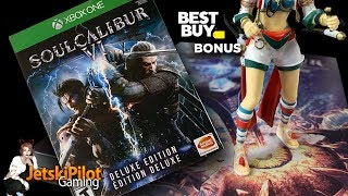 Unboxing: Soulcalibur VI Deluxe Edition with Bonus Figurine