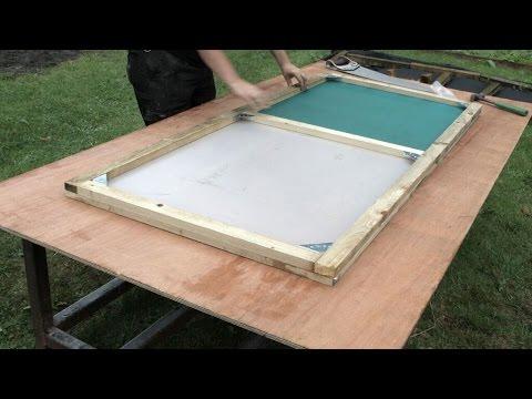 Building a Polytunnel Door & Building a Polytunnel Door - YouTube