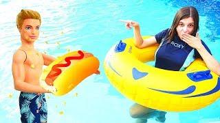 Приключения ваквапарке— Видео наотдыхе— Куда исчез Кен? —Ищем сподсказками!