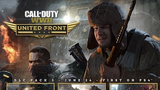 "WW2 DLC 3 ""UNITED FRONT"" GAMEPLAY TRAILER"