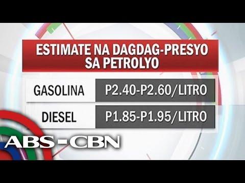 Big-time oil price hike nagbabadya