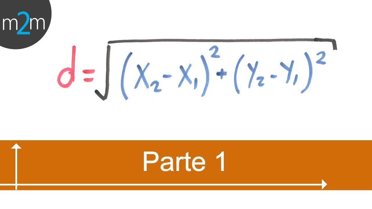 P1.Cálculo de distancia entre dos puntos. Find the distance between ...