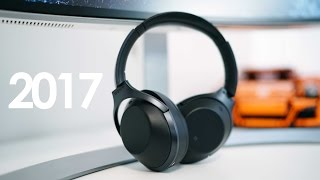 Video BEST HEADPHONES OF 2017! - Best Noise Cancelling Cans! download MP3, 3GP, MP4, WEBM, AVI, FLV Juli 2018