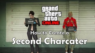 How to create second character (GTA Online)