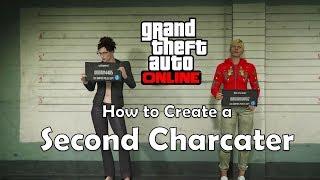 كيفية إنشاء الحرف الثاني (GTA Online)