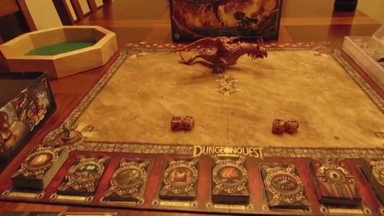 DungeonQuest Revised Edition Review TD Reviews