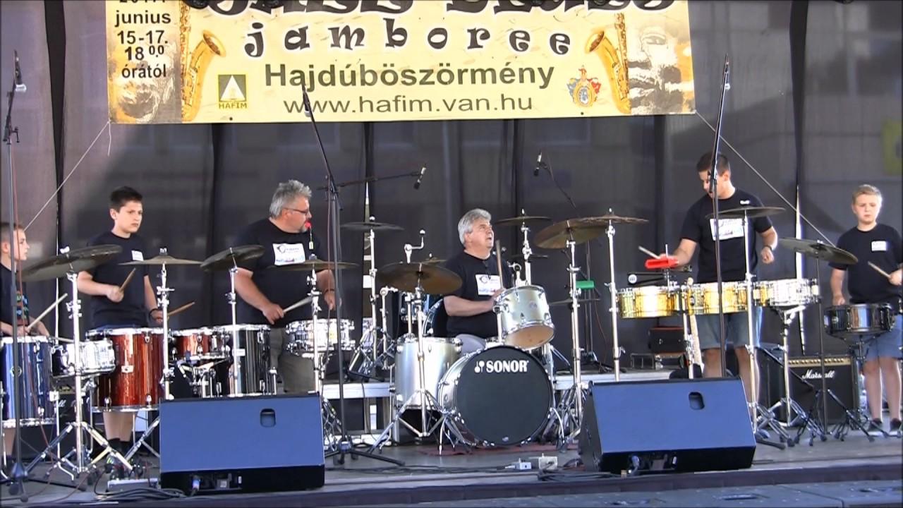 c5592c65f Hajdúböszörményi Ütős Együttes-XVII. Jazz-Blues Jamboree és Nemzetközi  Sörnapok-2017. 06. 15.