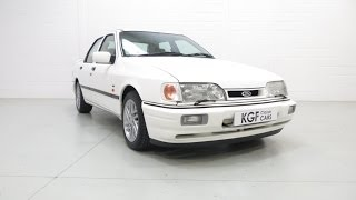 A Spectacular Ford Sierra Sapphire RS Cosworth 4X4 Restored to Original Specification - SOLD!