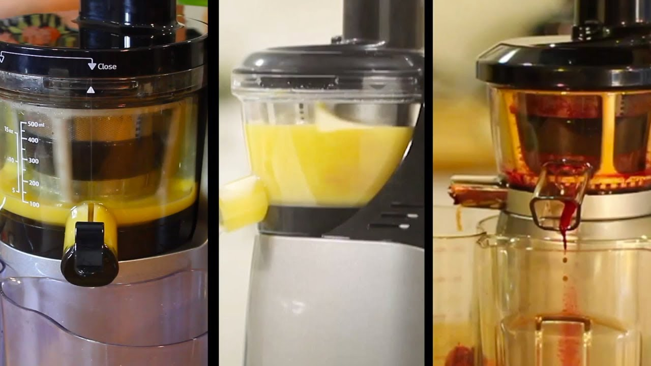 Hurom Slow Juicer Stopped Working : Compare Features of the Hurom Slow Juicers Hu700 - Hu500 - Hu400 - YouTube
