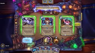 HearthStone - Tavern Brawl - Spellbook Duel Priest Gameplay