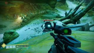 Destiny 2 Use Widow's Bite Legendary Sniper Rifle