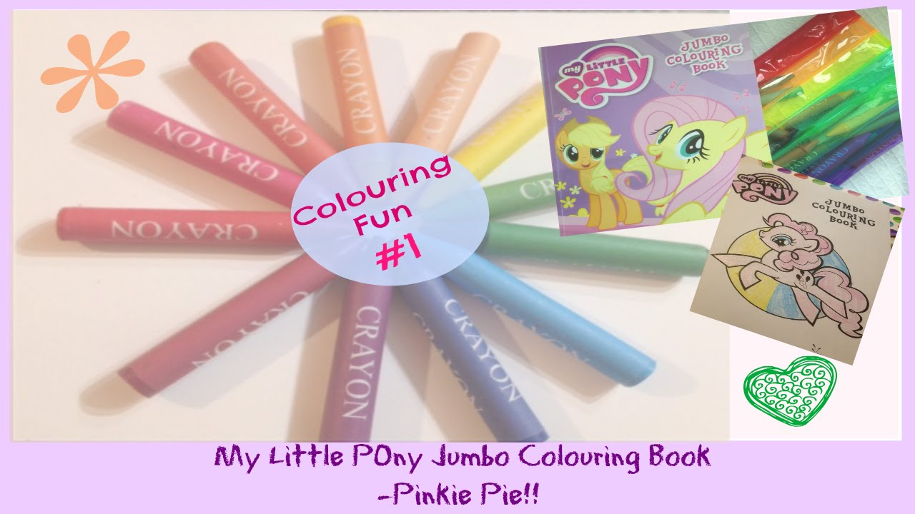 My little pony colouring book uk - Mlp Pinkie Pie Coloring Fun 1 My Little Pony Jumbo Colouring Book Pinkie Pie