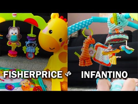 Baby Play Mats: Infantino Vs. FisherPrice Review