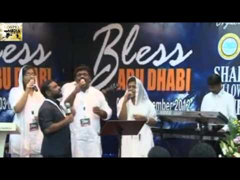 Music Night,Worship Night - Biju Kumbanad, Liji Yesudas and ....    Bless AbuDhabi