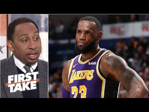 Despite LeBron's best efforts, the Lakers have no identity - Stephen A. | First Take