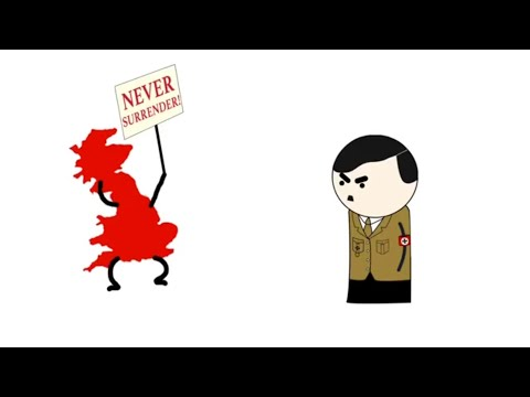 Reacting To Oversimplified WW2 | Part 1