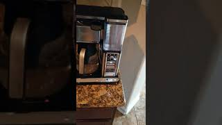 Ninja coffee bar not working after cleaning fixed