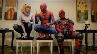 THE WAITING ROOM - EPISODE 13 - 90's Edition - Spider-man Deadpool Spider-Gwen