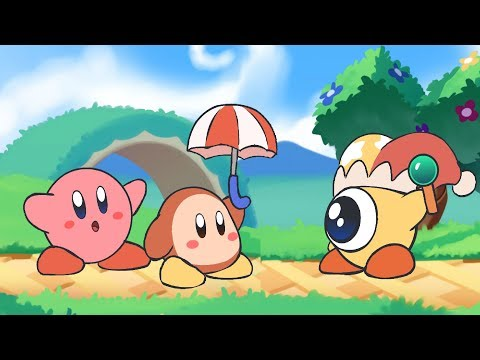 Kirby Star Allies Animation