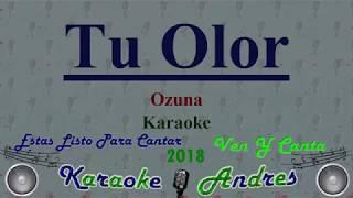 Tu Olor - Ozuna [ Karaoke ] Produce Cristian Remix
