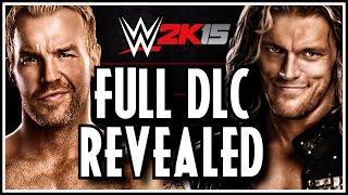 WWE 2K15 FULL DLC Revealed - Showcase Rivalries, Legends, WCW Alumni & NXT Superstars!