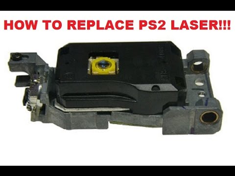 How to fix replace a Playstation 2 Laser