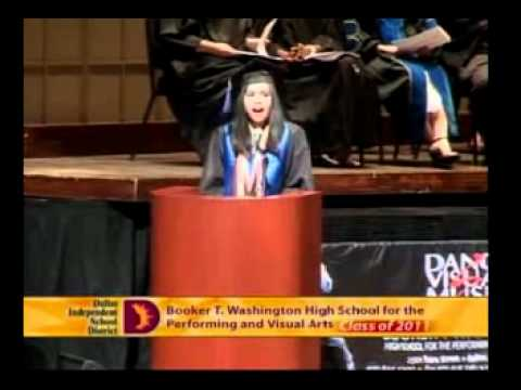 Booker T. Washington High School for the Performing and Visual Arts (Dallas) 2011 Graduation