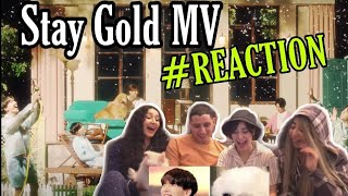 BTS (방탄소년단) 'Stay Gold' Official MV / REACTION