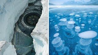 Это нашли во льду. Замороженные во льду. Факты. Интересное видео