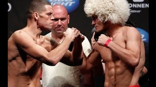 Habib Nurmagomedov against the brothers Diaz fight in Las Vegas