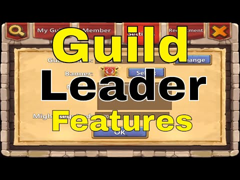 Castle Clash Guild Leader Features