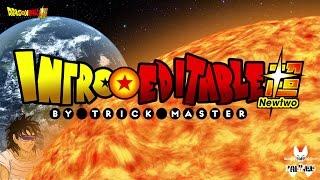 Intro Dragon Ball Super / Editable ( Sony Vegas - Photoshop ) Tutorial