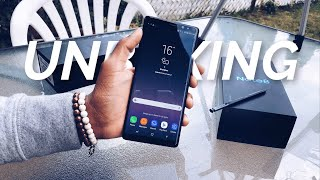 Samsung Galaxy Note 8 Unboxing And First Impressions 3 Weeks Later