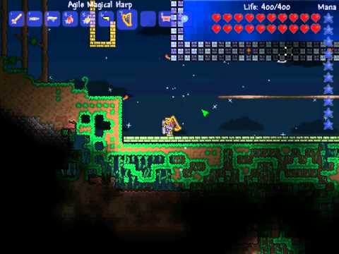How To Craft The Magical Harp In Terraria