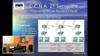 Curso de Preparación para la certificación Cisco CCNA. Clase 1 (parte 1 de 2)