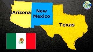 Mexico Suýt Xâm Lược Mỹ Để Lấy Lại Texas, New Mexico Và Arizona