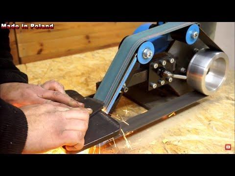 """DIY Belt Grinder 2x48"""" [PLANS]"""