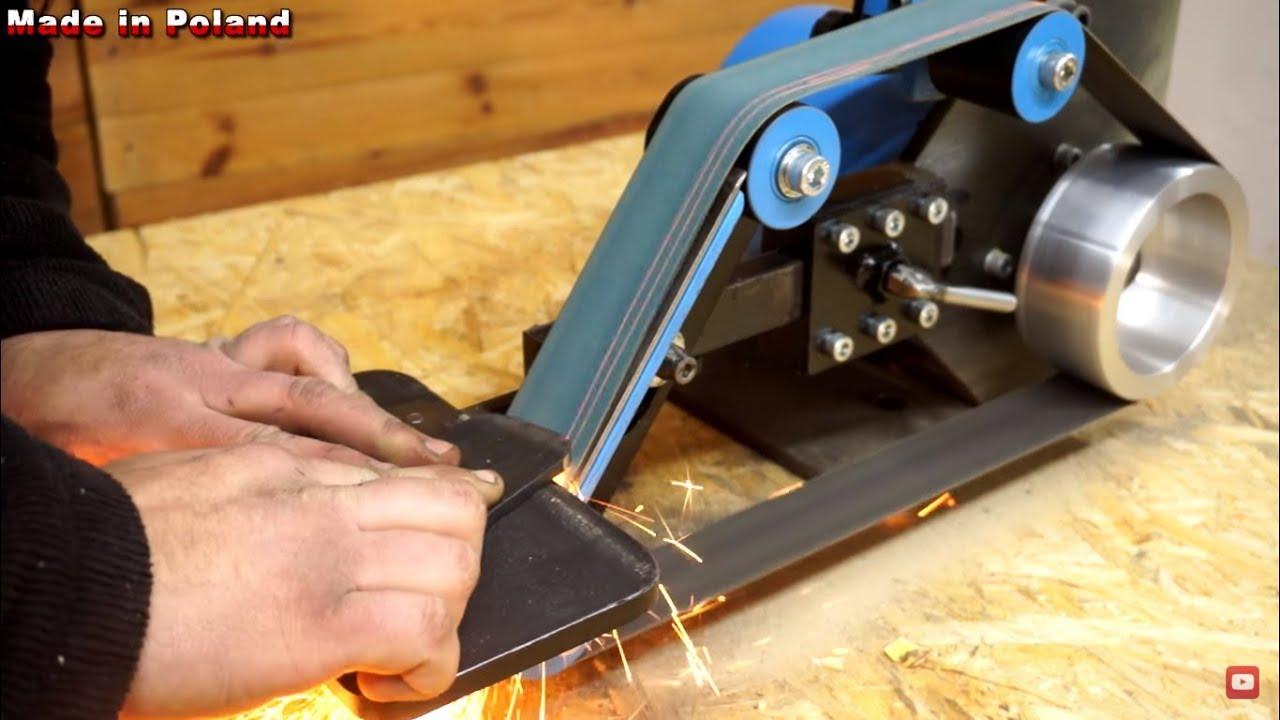Diy belt grinder plans pdf