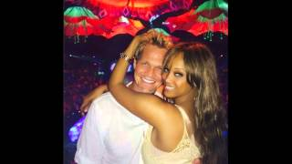 #TyraBanks shows of WHITE boyfriend #ErikAsla! Is supermodel a #NegroBedwench or Nah?