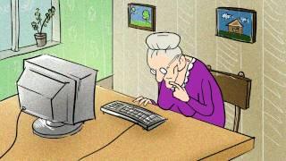 Мультик про бабушку
