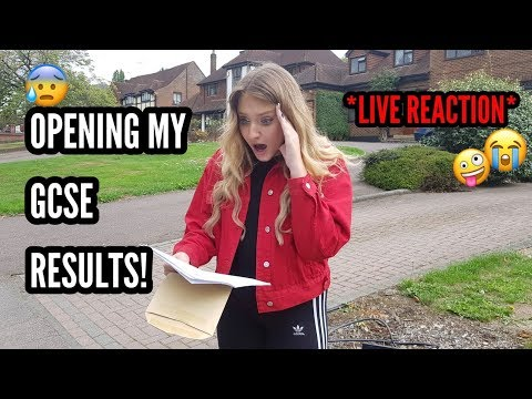 OPENING MY GCSE RESULTS *Live Reaction* 2018