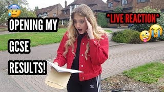 One of Simply Katie's most viewed videos: OPENING MY GCSE RESULTS *Live Reaction* 2018