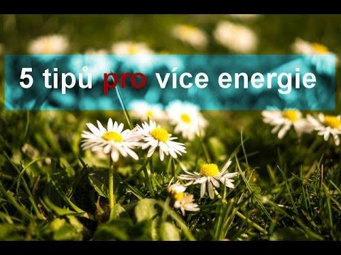5 tipů jak získat více energie - proti jarní únavě I Síla pro život