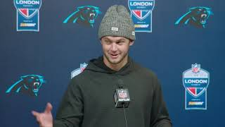 Kyle Allen Says Christian McCaffrey Can Make Anything Happen | Carolina Panthers