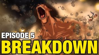 DECLARATION OF WAR!! | Attack on Titan Season 4 Episode 5 Breakdown