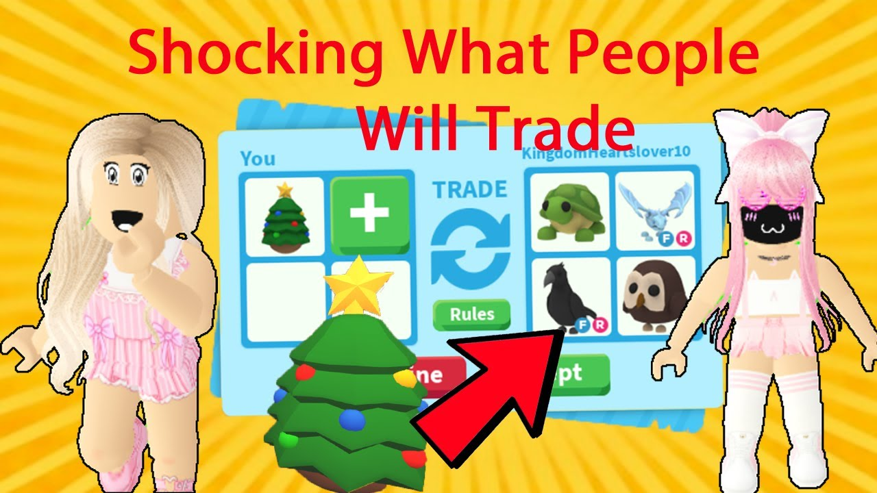 *Crazy* What People Will TRADE For A CHRISTMAS EGG In Roblox Adopt Me / Adopt Me Trading ...