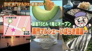 磯山さやかさんが,今月,東京・銀座にオープンした茨城県のアンテナシ...