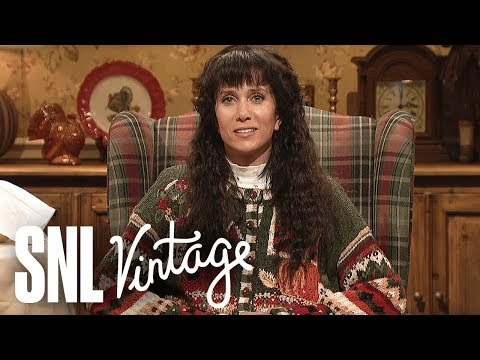 Thumbnail: Cut for Time: Thanksgiving Foods (Kristen Wiig) - SNL