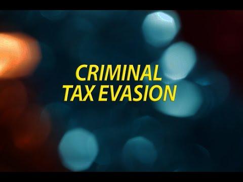 Criminal Tax Evasion